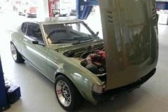 ソアラの4.0L V8エンジンを搭載したドリ車仕様のダルマ セリカが販売中!