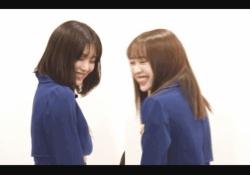 【乃木坂46】伊藤純奈&渡辺みり愛、笑っちゃう可愛いgifwww