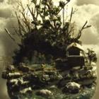 『FUJIIさんのジオラマ④「冬の露天風呂」』の画像