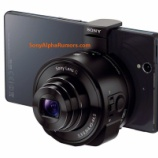 『SONY スマホ用レンズカメラ DSC-QX10 QX100』の画像