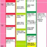 『【乃木坂46】4期生出演!『TIF2019』タイムテーブルが公開キタ━━━━(゚∀゚)━━━━!!!』の画像