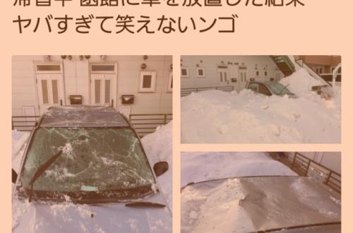 【画像あり】なんJ民、実家に帰省してる間に車がボコボコになってしまうのサムネイル画像