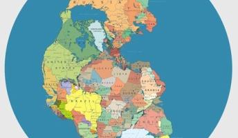 【衝撃位置】世界の大陸が分裂する前の「パンゲア大陸」における各国の位置が予想外すぎてビビった!