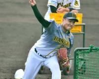【朗報】阪神秋山「自分らしい球筋」大山を直球で2度空振り