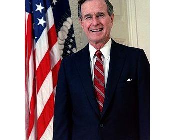 【訃報】ブッシュ大統領(父)、ジョージ・H・W・ブッシュ、死亡