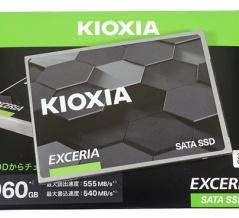 「KIOXIA EXCERIA SATA SSD 960GB」をレビュー。時代遅れ感は否めない