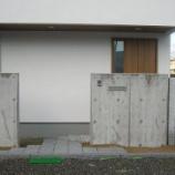 『刈谷市K/M様邸 門柱』の画像