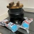 100均の固形燃料でご飯が炊けるか?実験しました。
