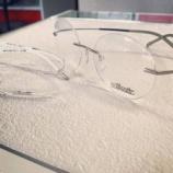 『フレームの重量をまったく感じない超軽量設計メガネ』の画像