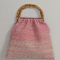 手織りの春色グラニーバッグ
