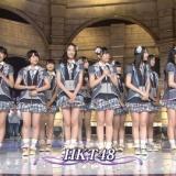 HKT48、「音楽の日」に出演。宮脇咲良はMC振られ手がガクガクに