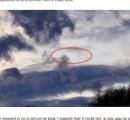 龍のような謎の飛行物体「フライングサーペント」イギリスで目撃される
