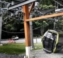 ロープウェーのケーブルが何者かに切断されほぼすべての車両落下 海抜914mまで運び海峡を観覧