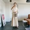 """""""環境に優しい服・oblekt""""のマキシワンピは旅行に持っていきたいNo.1"""
