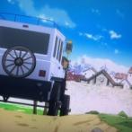 【画像】アニメスタッフ「馬車つくって」 CG担当「馬車?こんな感じだろw」