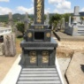 和型のお墓が完成しました。(日田市)