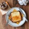 バスクチーズケーキ風トースト