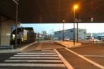 8キロ先架橋工事してるみたい〜第二京阪高架下に新名神の工事お知らせが出てる〜