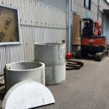 『一部駐車スペースで工事中です!』の画像