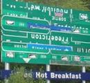 世界で最も分かりづらい道路標識 カナダで見つかる