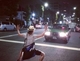 長澤まさみ、道路の真ん中で両手両足を広げてタクシーの前に立ちはだかっている画像を投稿→削除