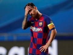 【裁判沙汰!?】メッシ「退団します。今なら違約金なしですよね」 バルセロナ「あー、違約金なし期間は終了しておりまして」