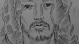 浅野忠信の絵を描いた(※画像あり)