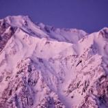 『お正月の雪山』の画像