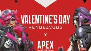 『バレンタインイベント開催!デュオモード、限定バッジ、チャーム等【Apex Legends】』の画像
