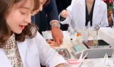 西野七瀬が一生懸命 香水の調合してる動画が発見される!