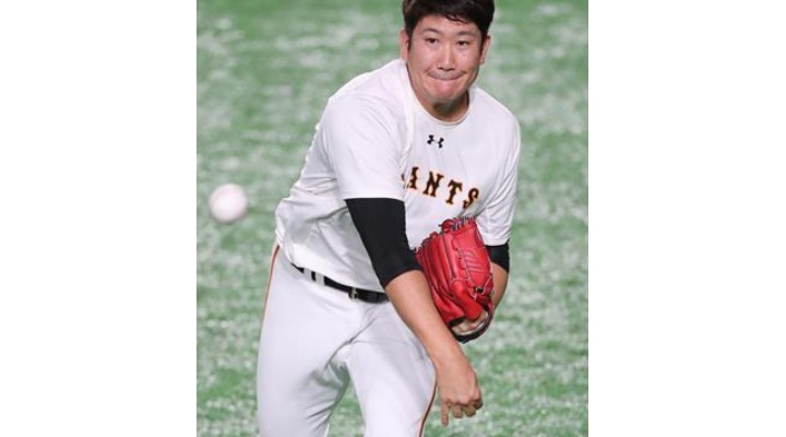 巨人・菅野「手応えはあります!投げたら動けないぐらいの覚悟で投げたい」