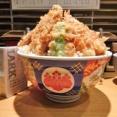 ■小川町の「金子半之助」で、デカ盛り天丼!