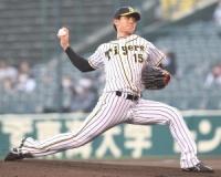 プロ初先発の阪神・西純は5回無安打無失点87球で降板 「初回は緊張もあって力んで」
