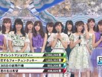 AKB「ヘビーローテーション!」欅坂「サイレントマジョリティー!」