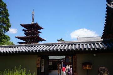 薬師寺と唐招提寺