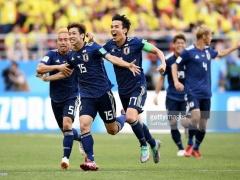 【 日本代表 vs コロンビア 】試合終了!代わった本田のCKから大迫が勝ち越しゴール!日本代表、コロンビアを2-1で下し勝ち点3獲得!!