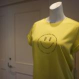 『DUAL VIEW(デュアルヴュー)スマイリーTシャツ』の画像