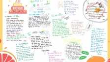 IZ*ONEキム・チェウォン、メンバー全員との2ショット公開 & メンバーからメッセージ