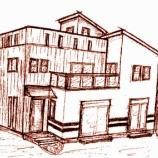 『家を描いてもらいました』の画像