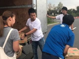 宮迫博之、インタビューマン山下と千葉県に支援物資を届け、ボランティア活動を行う 山下がツイッターで報告