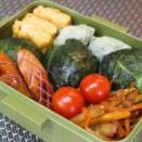 「高菜おむすび」弁当