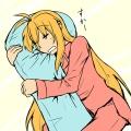 ニトリの抱き枕を買いました
