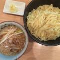 小麦と肉 桃の木@新宿御苑前 「つけ麺 こってり醤油味」