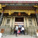 『台湾のお寺 パワースポット 龍山寺! 雰囲気あります!』の画像