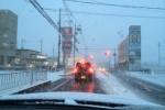 元旦。夕方から交野市は『積雪』!~PM4:00~PM6:00くらいの市内各所の雰囲気はこんな感じ~