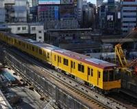 『東京地下鉄1000系旧1000形風ラッピングの1139編成が営業運転開始』の画像