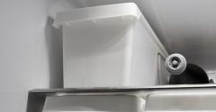 || 掃除までラクになる!セリアの収納グッズを冷蔵庫で活用 ||
