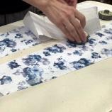 『夏の店頭新作スカート製作スタート。』の画像