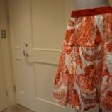 『DUALVIEW(デュアルヴュー)ペイズリー柄スカート』の画像