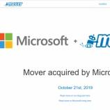 『[Mover]OneDriveからOneDriveへデータ移行してみた』の画像